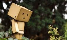 紙盒人盒子人萌寵