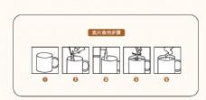 麥片食用方法 簡易圖標