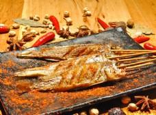 燒烤小黃魚
