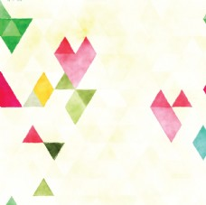 水彩幾何背景