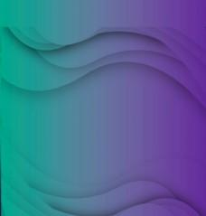 紫绿炫彩背景