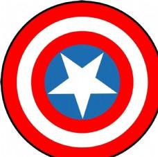美国队长标志