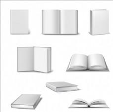 各种形态的书本 样机 贴图