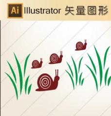 卡通剪纸 动物剪纸 简洁手绘