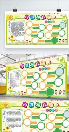 校园文体墙展板