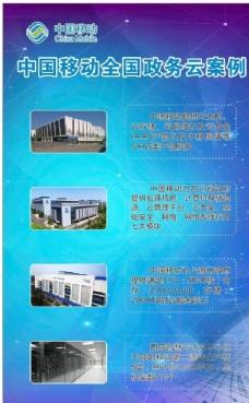 中国移动灯箱云服务政务云制度牌