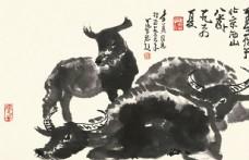 李可染国画牛