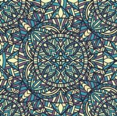 古典多彩底纹