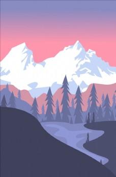 雪山 天山