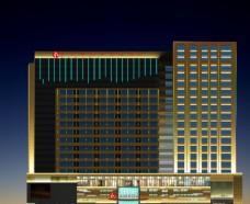 武汉和瑞华美达酒店外景亮化