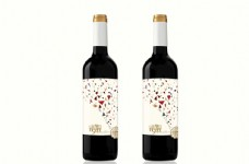 葡萄酒标签 干红 甜红 法国