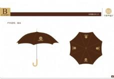 中式餐厅 VI VI设计 雨伞