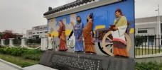 文化雕塑 街边景观设计
