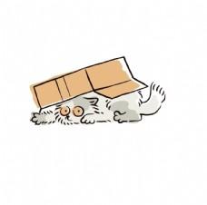 卡通小猫咪