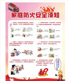 家庭防火  海报