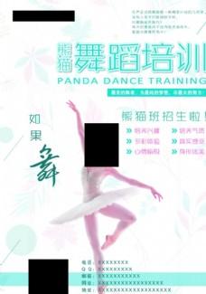 简约大气芭蕾舞蹈培训