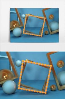 电商C4D创意设计图案