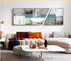 现代轻奢装饰画客厅床头卧室挂画