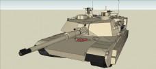 M1A4塔克模型