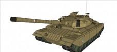 T-85坦克模型