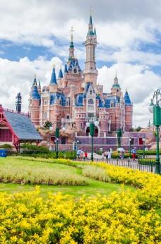 迪士尼旅游摄影图