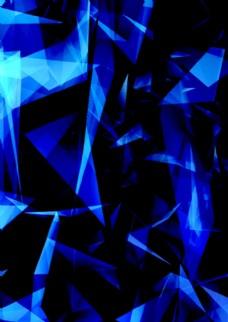 蓝色科技背板
