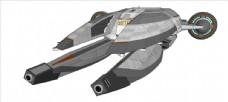 太空大型飞船模型