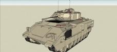 步兵战车模型