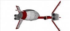 小型飞船模型