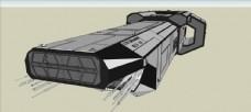 太空航母模型