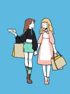 购物少女们