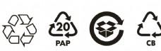 矢量纸箱环保标