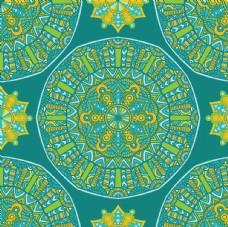 曼陀羅花紋