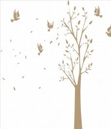 餐厅 树 鸟