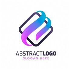 商务简约抽象几何logo设计