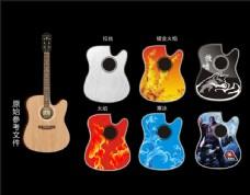 吉他面板设计