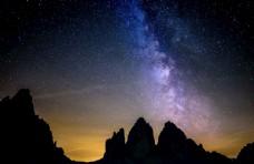 星空 山脉