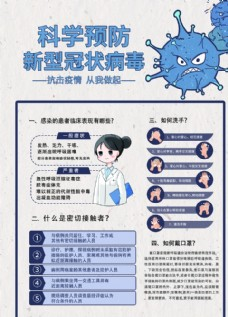 科学预防新型冠状病毒