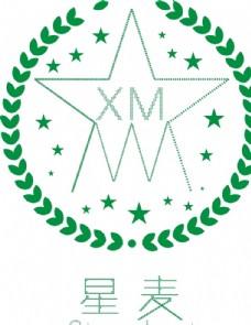 星麦logo设计