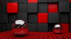 红色背景 红色会议背景 红色科