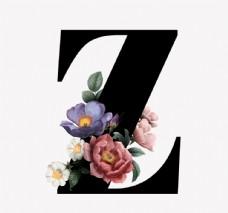 花 字母 Z