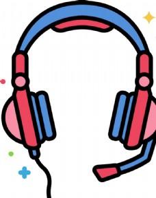 游戏耳机图标