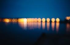 城市魅力夜景灯光