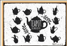 12款入茶杯粉笔画