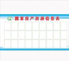 房源信息表