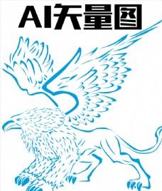 格里芬 狮鹫兽 纹身图案