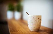 杯子 陶瓷 咖啡杯 一杯咖啡