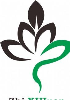 logo绿叶树叶创意设计