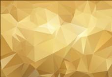 金色会议展板背景