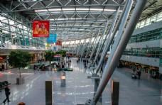 机场候机厅待机飞机场贵宾室座椅